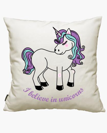 Fodera cuscino io credo in unicorni