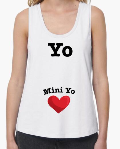 T-shirt io, mini i (incinta)