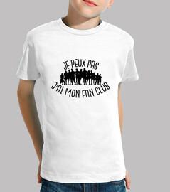 io non posso avere il mio fan club