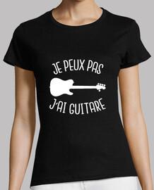 io non posso avere la chitarra