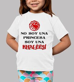 io non sono una principessa sono una khaleesi