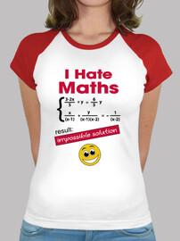 io odio la matematica