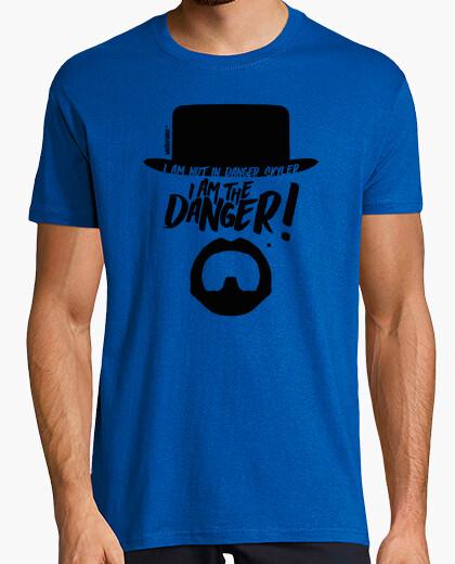T-shirt io sono il pericolo - breaking male