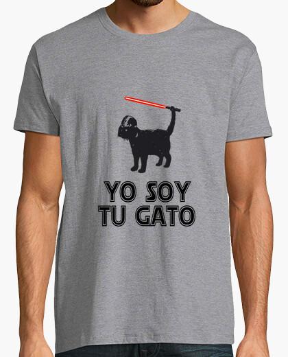 T-shirt io sono il vostro gatto spada laser