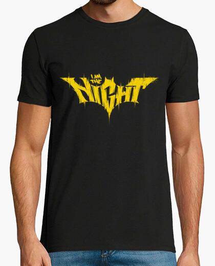 T-shirt io sono la notte