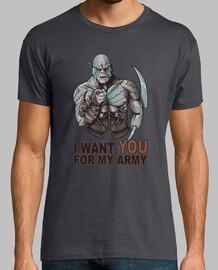 io ti voglio per il mio esercito