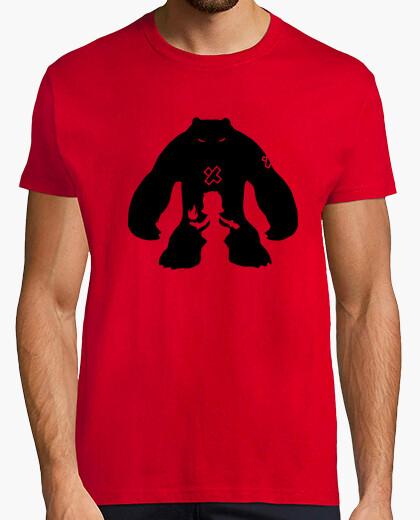 T-shirt io tibbers il mio orsacchiotto uomo