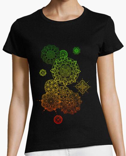 T-shirt io vengo e vado, donna, manica corta, nero, qualità premium