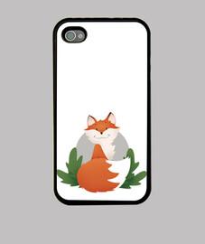 iphone4 casing fox