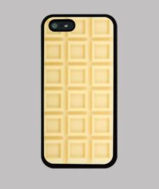 iphone5 chocolate blanco