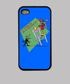 iphone 4 caso - l'altezza mi dà il vantaggio - joseppe10 - personalizzabile!