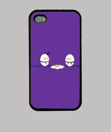 iphone 4 egged