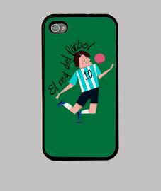iPhone 4 Rey Futbol