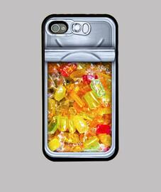 iPhone 4 y 4s caramelos
