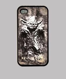 iPhone 4 y 4s yoda carbonite