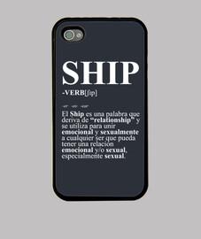 iphone 4s définition du navire de cas
