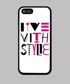 iphone 5 / 5s viven con estilo
