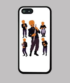 iphone 5 caso - i nodi modali
