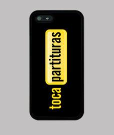 iphone 5 caso tocapartituras.com