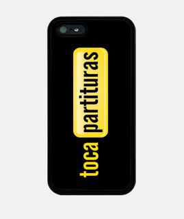 iPhone 5 Funda tocapartituras.com