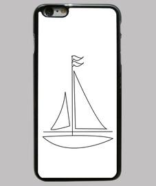 iphone 6 plus, barca a vela