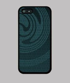 iphone espiral azul 5