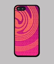 iphone espiral de naranja 5