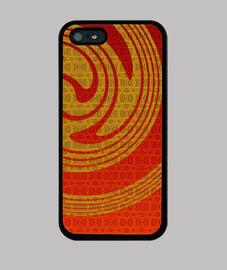 iphone espiral de oro 5