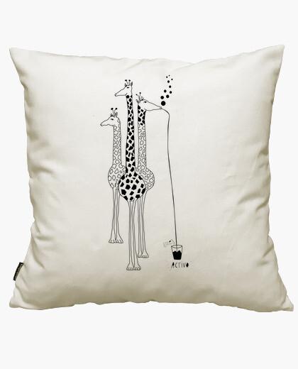 Iphone giraffes cushion cover