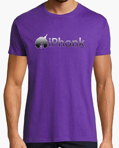 Camiseta Iphonk Degradado