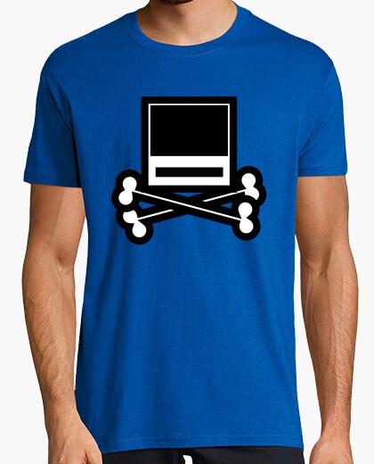 Camiseta iPod skull...