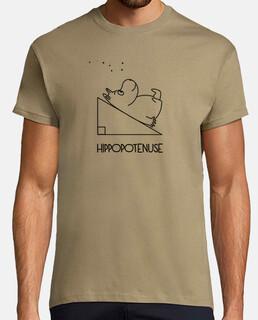 ippopotenusa - t-shirt da uomo - t-shirt da uomo basic da t-shirt da uomo