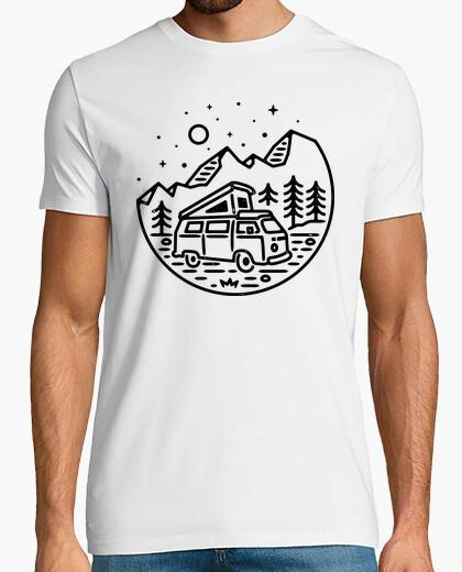 Camiseta ir al aire libre (para la luz)