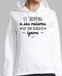 ir de compras tiene sus razones