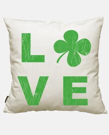 irish amore square verde