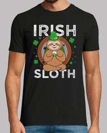 Irish Cute Sloth Beer Leprechaun St. Patricks Day