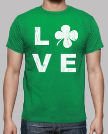 irlandese amore quadrato bianco