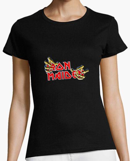 Camiseta Iron Maiden Garras