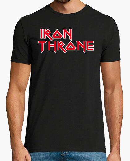 Camiseta Iron Throne (Logo Iron Maiden)