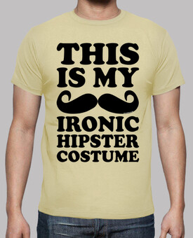 Ironic Hipster Costume