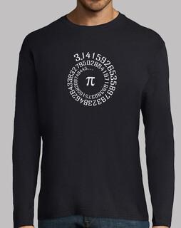 irrationale zahl pi - mathematik - t-shirt - t-shirt