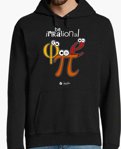 Felpa irrazionale essere π φ e (sfondi scuri)