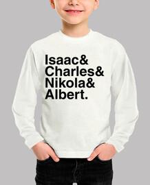 Isaac & Charles & Nikola & Albert.