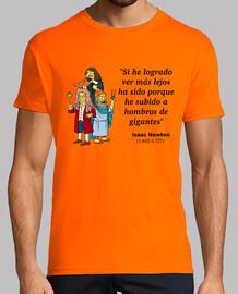 Isaac Newton: a hombros de gigantes