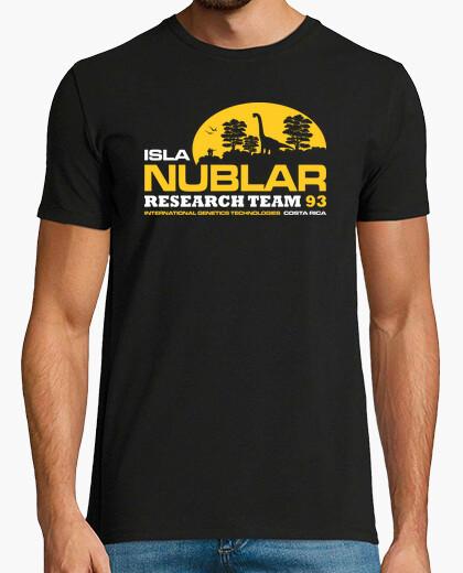 Camiseta Isla Nublar - Equipo de Investigación 93 (Jurassic Park)
