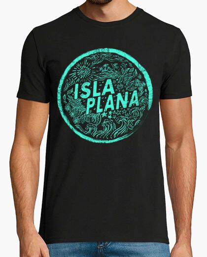 Camiseta Isla Plana Vintage Mint