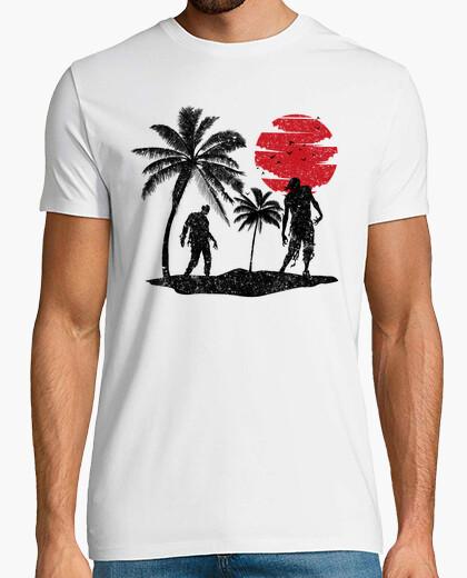 T-shirt isola zombi