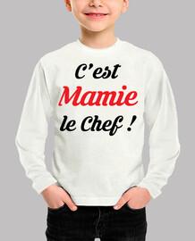 it's grandma the chef!