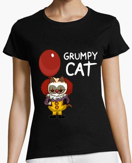 Camiseta It Cat Clown Funny