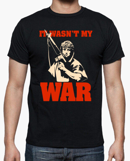 Camiseta It Wasn't My War (Rambo)